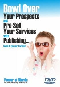 Bowl over your prospects DVD