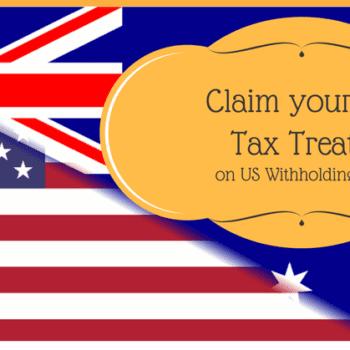 Claim Tax Treaty on US Withholding Tax