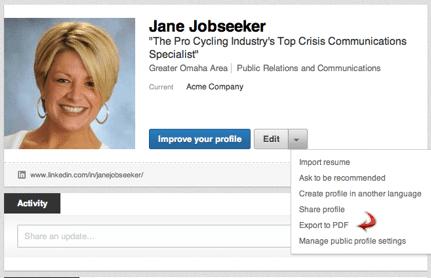 Authors improve LinkedIn profile