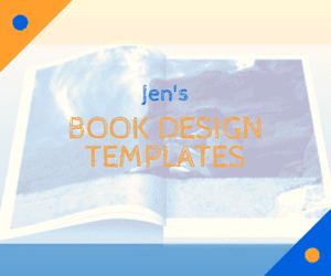 book design templates InDesign