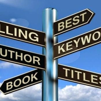 author marketing and keywords