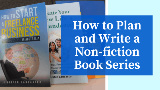 how to write a nonfiction book series