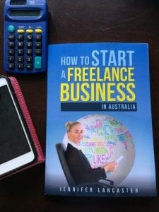 start a freelance business book cover