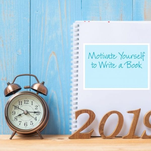 motivate yourself to write a book