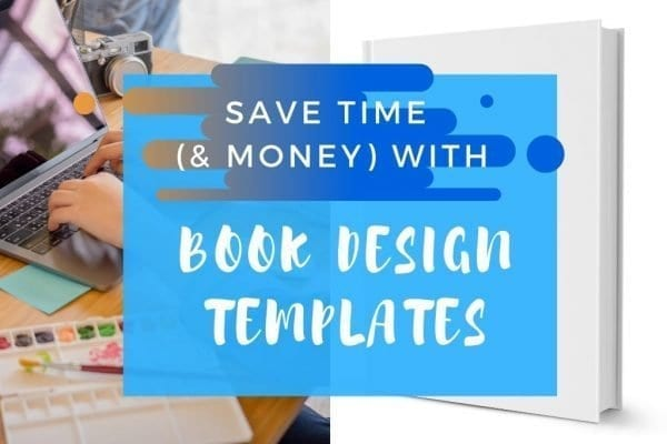 how to use book design templates