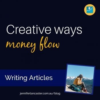 Creative Ways Money: Writing Articles
