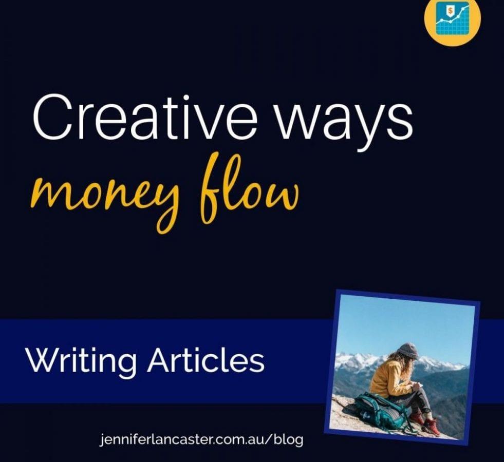 Creative Ways Money: Writing Articles