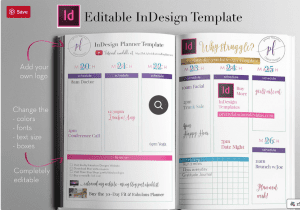 Indesign Planner Template