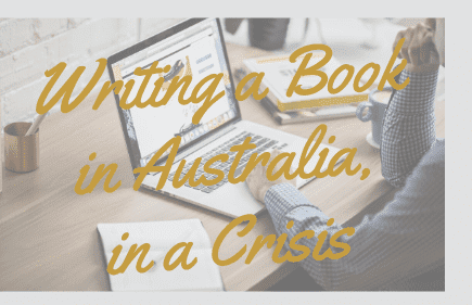 Writing a book in Australia