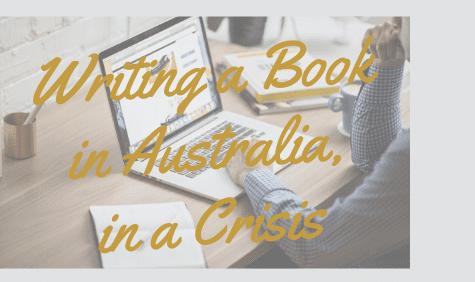 Writing a book in Australia
