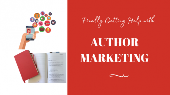 author marketing help