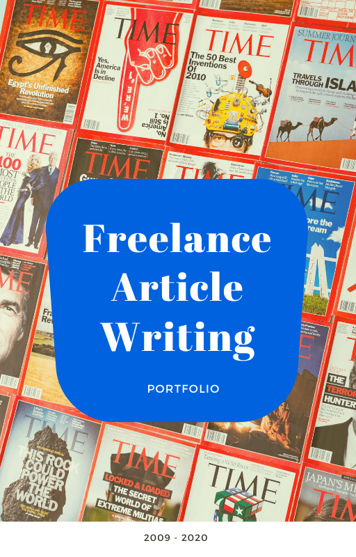 Article writing portfolio samples