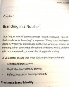 brand story - book