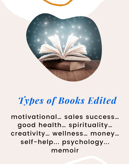 Types of Books Edited